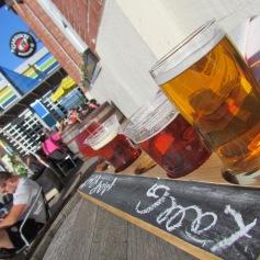 Bier-Probe bei Garrison Brewing Company Halifax, Nova Scotia (c) tanadia.com
