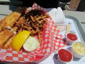 Fish & Chips in Lunenburg
