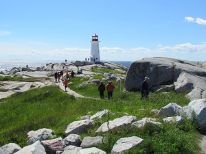 Touristenmagnet Peggy's Cove