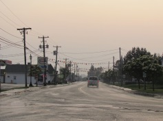 Kurz vor Sonnenuntergang in New Brunswick