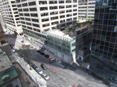 Blick vom Mc Gill Labor auf Downtown