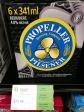 Propeller-Bier passt gut zu Bratwurst, Halifax, Nova Scotia (c) tanadia.com