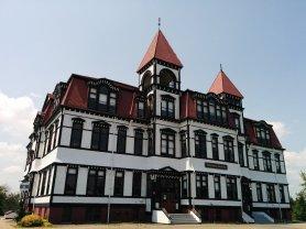 Ein bisschen Hogwarts in Lunenburg - die örtliche Schule