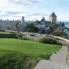 Blick auf Fairmont und Altstadt, Quebec City, Quebec (c) tanadia.com