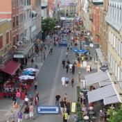 Fußgängerzone Quebec City, Quebec (c) tanadia.com