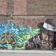 Streetart in Montreal - (c) tanadia.com