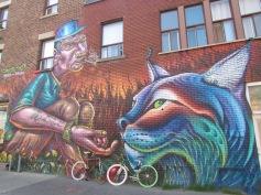 Streetart in Montreal (c) tanadia.com