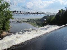 Montmorency Falls, Quebec City, Quebec (c) tanadia.com