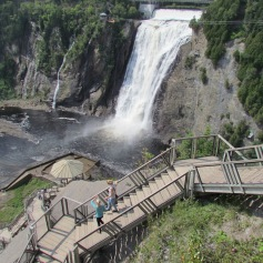 Montmorency Falls, Quebec City, Quebec (c) tanadia.com