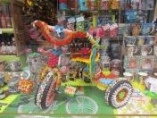 Süßes Dreirad