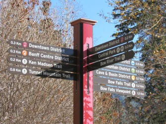 Kurze Wege in Banff - (c) tanadia.com