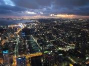 Blick vom CN Tower bei Dunkelheit - (c) tanadia.com