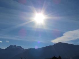 Sonne über Revelstoke - (c) tanadia.com