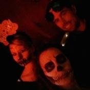Halloween in Vancouver: Scary Trio (c) tanadia.com