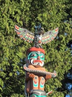 Totem-Pfahl im Stanley Park (c) tanadia.com
