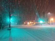 Letzte Nacht hats nochmal ordentlich geschneit