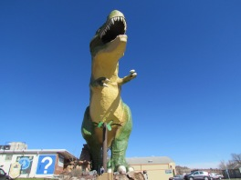 Selfie mit ganzem (!) Dino
