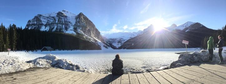 Lake Louise April 2016 (c) tanadia.com