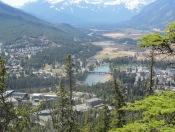 Wunderschöner Blick auf Banff