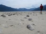 Der See ist leer da woanders gestaut wird