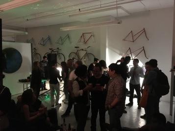 Party in der Fahrradwerkstatt im Mile-End - Copyright: tanadia.com