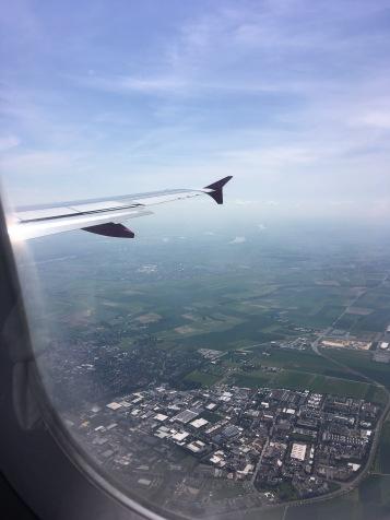 Landeanflug auf Frankfurt/Main - Copyright: tanadia.com